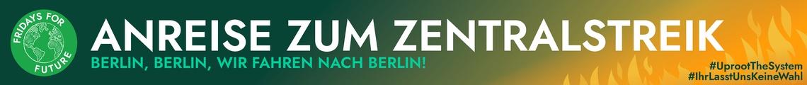 ANREISE ZUM GLOBAL STRIKE IN BERLIN